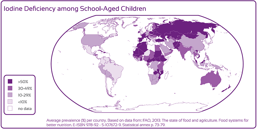 Iodine Deficiency among School-Aged Children